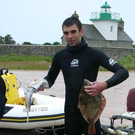 Spearfishing training