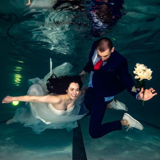 Underwater videoshoot