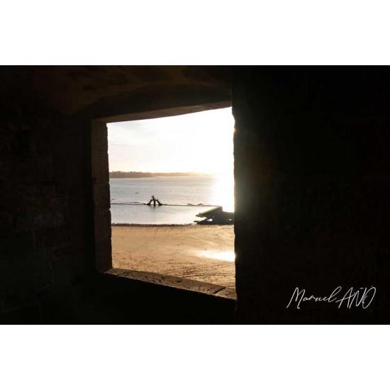 Par la fenêtre - Saint-Malo