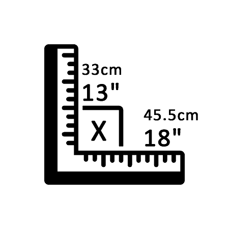 "13"" X 18"""