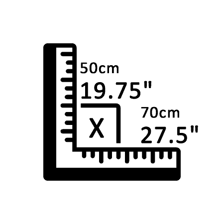 "19.75"" X 27.5"""